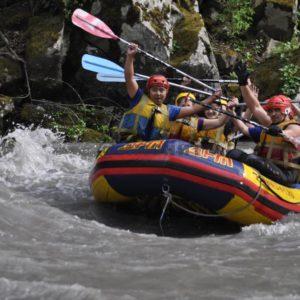 Рафтинг на реке Белая, Адыгея