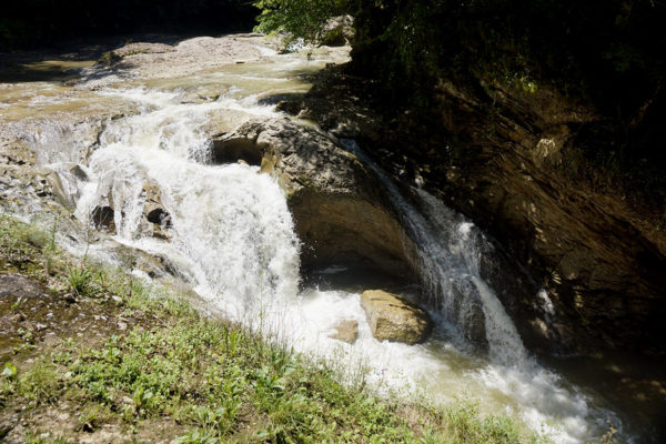 Джиппинг к Усть-Сахрайским водопадам, Адыгея