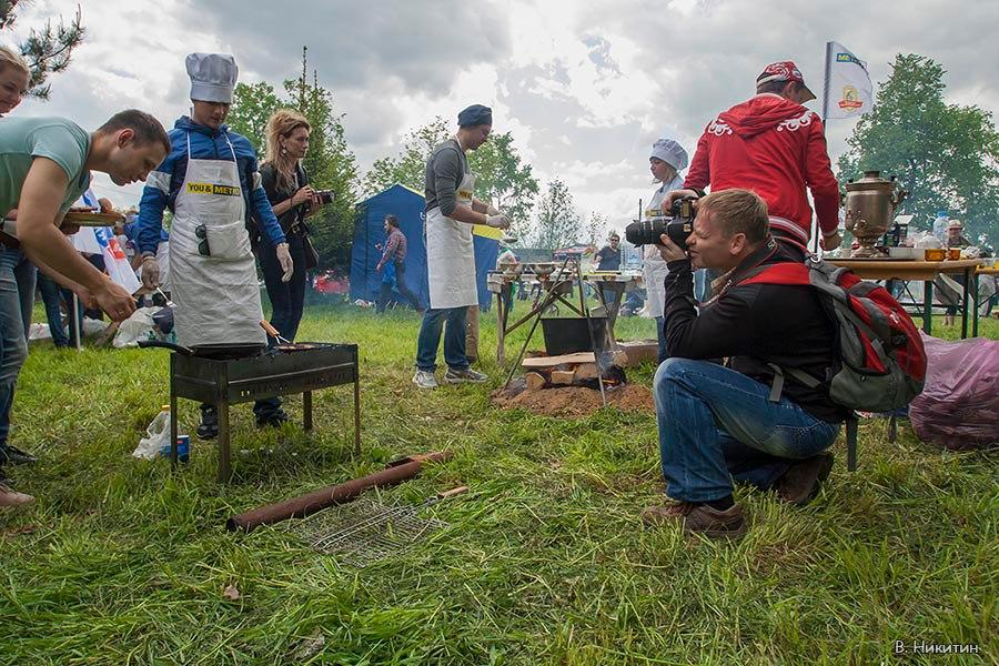 Во время фестиваля Великая Ростовская уха, г. Ростов Великий